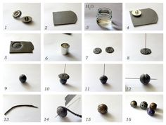Pic tut for making metal looking beads