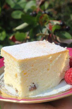 Bajkorada: Sernik wiedeński (bezglutenowy) Polish Recipes, Polish Food, No Bake Cake, Bon Appetit, Gluten Free Recipes, Vanilla Cake, Holiday Recipes, Cheesecake, Good Food