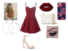 """""""Untitled #8"""" by gabriellecute ❤ liked on Polyvore featuring Glamorous, Liliana, Lime Crime, Tory Burch and Casetify"""