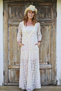 Campania Maxi Dress Tie Dye Lace