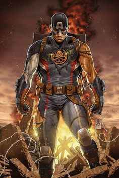 Marvel's controversial Secret Empire event is over. Was it worth it? - Polygonclockmenumore-arrowpoly-lt-wire-logo : The crossover about a fascist Captain America's government takeover comes to final end this week Marvel Comics, Comics Anime, Marvel E Dc, Marvel Heroes, Marvel Universe, Marvel Villains, Marvel Characters, Captain Marvel, Hydra Marvel