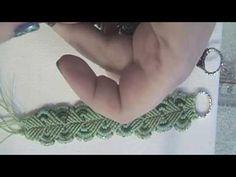 Tutorial Bracciale Macramè Foglie   DIY Micromacrame Bracelet