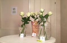 Tag 1 Alle Rosen sehen frisch aus.