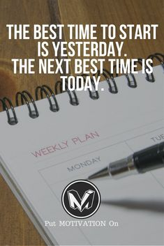 Start Today. Follow all our motivational and inspirational quotes. Follow the link to Get our Motivational and Inspirational Apparel and Home Décor. #quote #quotes #qotd #quoteoftheday #motivation #inspiredaily #inspiration #entrepreneurship #goals #dreams #hustle #grind #successquotes #businessquotes #lifestyle #success #fitness #businessman #businessWoman #Inspirational