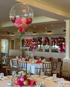 Chandelier Centerpiece, Balloon Centerpieces, Balloon Decorations, Birthday Decorations, Wedding Decorations, Table Decorations, Terrace Decor, Ideias Diy, Centre Pieces