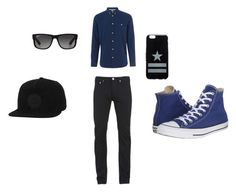 """""""Casual Men-ware"""" by polyvorewillis on Polyvore featuring Norse Projects, Paul Smith, Converse, Givenchy, Ray-Ban, men's fashion and menswear"""