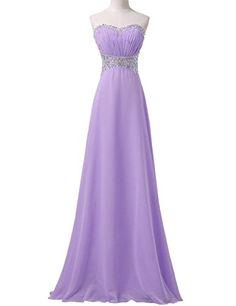 JoyVany Sweetheart Chiffon Party Dress 2016 Pleated Long Beaded Homecoming Dress