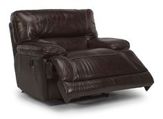 1237-50 Fleet Street Leather Recliner  |  Available from The Tin Roof in Spokane WA #shopthetinroof