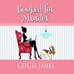 """Another must-listen from my #AudibleApp: """"Booked for Murder: An Oceanside Mystery"""" by CeeCee James, narrated by Katie Habib."""