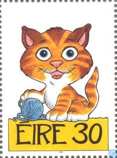 Postage Stamps - Ireland - Animals