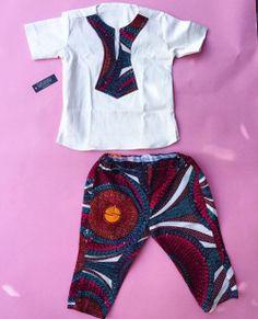 Ethan &Elliel Ankara Styles For Kids, African Dresses For Kids, African Babies, African Children, African Inspired Fashion, African Print Fashion, Africa Fashion, African Fashion Dresses, Boy Fashion