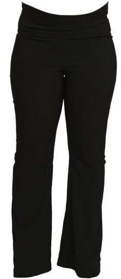 Wide Leg Maternity Pants by Ljb Maternity