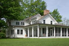 19th century farmhouse restoration and addition by Kate Johns AIA via houzz.com