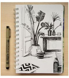Sketchbook Drawings, Cool Art Drawings, Pencil Art Drawings, Drawing Sketches, Sketching, Doodle Art Drawing, Sketch Art, Illustration Inspiration, Sketchbook Inspiration