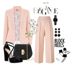 """Elegance"" by adrijana-fashion ❤ liked on Polyvore featuring Fendi, H&M, Chloé, Nina, Cara Accessories and ROSEFIELD"