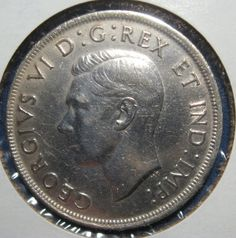 1939 Canada King George the VI nice large silver by RogerVarouj