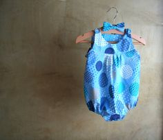 Set Baby Boy-Romper and bow tie-Newborn Clothes by PABUITA on Etsy
