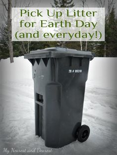 Celebrate Earth Day by Picking Up Litter - My Nearest And Dearest. Post includes tips and related resources.