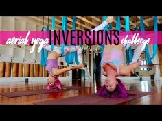 Aerial Yoga for an Amazing Morning Sequence - YouTube
