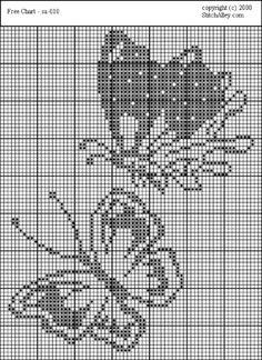 Cross Stitch Fruit, Butterfly Cross Stitch, Crochet Butterfly, Weaving Patterns, Quilt Patterns, Embroidery Patterns, Tapestry Crochet, Tapestry Weaving, Filet Crochet Charts