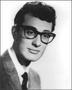 people have been telling me as of late i look like buddy holly