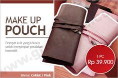 Make Up Pouch. Dompet Dengan Disain Khusus Untuk Menyimpan Alat Make Up. Hanya Rp 39.900 http://www.groupbeli.com/view.php?id=439