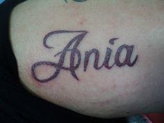 Name Tattoo www.bigguystattoo.com