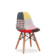 Silla BABY WOODEN -Patchwork- (Sillas baby) - DSW Sillas de diseño, mesas de diseño, muebles de diseño, Modern Classics, Contemporary Designs...