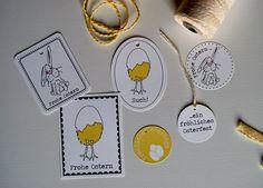 freebie friday - Oster Etiketten