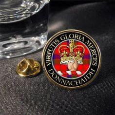Donnachaidh Scottish Clan Lapel Pin Badge