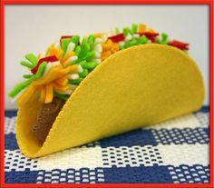 1 fieltro Taco Lana Natural juego alimentos Waldorf