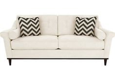 The iSofa® on Roomstogo.com lets you design your own custom sofa in three easy steps: choose your style, color, and pillows. Buy it online or see it in a store near you.