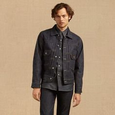 LEVI'S '1953 Type II' Denim Jacket. #levis #cloth # | Levi'S Men ...