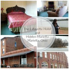 When you're visiting Marietta, Ohio, you've got to stay at The Lafayette Hotel. While there, be sure to tour with Hidden Marietta for great entertainment.