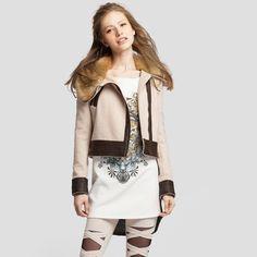 Angelcitiz 2013 slim long-sleeve woolen colorant match short jacket female 62130392
