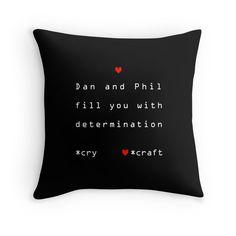 Dan and Phil Undertale by gemArt