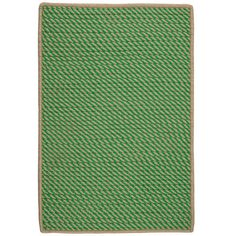 Beachcrest Home Russell Hand-Woven Green Indoor/Outdoor Area Rug Rug Size: Runner 2' x 12'