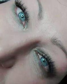 """27 """"Μου αρέσει!"""", 1 σχόλια - Dimitra Gkouzou (@dimitra.gkouzou) στο Instagram: """"Βλεφαρίδες εξτένσιον . . . . #nailsfoils #permanentmakeup #hairstroking #eyebrows #eyebrowshaping…"""""""