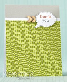 Laura Williams - Paper Crafts & Scrapbooking April 2014: make cards, masculine, for men, thank you, stamping