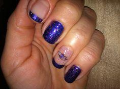 Baltimore Ravens SuperBowl nails!