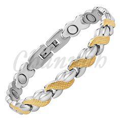 Vivari 2018 Trendy Ionic Plating Magnetic Bracelet For Women Supreme Quality Wristband Charm Bio Fashion Bracelet Femme. Fashion Bracelets, Bangle Bracelets, Bangles, Link Bracelets, Jewelry Accessories, Women Jewelry, China Jewelry, Silver Color, Bracelets