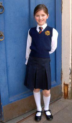School Girl Dress, School Wear, School Uniform Girls, Girls Uniforms, School Outfits, School Uniforms, School Fashion, Kids Fashion, School Pinafore