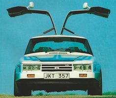 Saab Blue Spirit was a experiment from 1984 based on a silver Saab 99 EMS 1976 and rebuilt by Leif Mellberg in Nyköping led by Saab's project manager Bertil. Saab 900, Car Brands, Motor Car, Custom Cars, Subaru, Volvo, Cars And Motorcycles, Cool Cars, Dream Cars