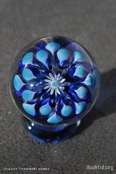Flower Marbles - Glass Artists.org