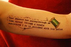 I so wish I wasn't afraid to get a tattoo! I would get this in honor of my mother!