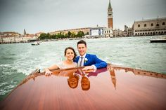 Real Wedding // It's Impossible Not To Love Venice // Photographer - AV-Photography