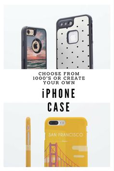 A great personal gift for someone special or that hard to buy for person, choose from 1000's of designs or create your own! #iPhone #Gift #Afflink