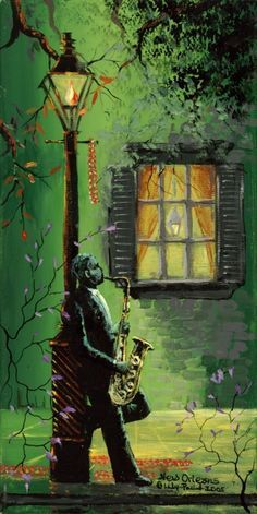 jazz it up Music Artwork, Art Music, Jazz Painting, Louisiana Art, New Orleans Art, Jazz Art, Peace Art, Oeuvre D'art, Art Pictures