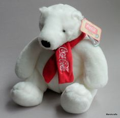 Coca Cola Polar Bear(I have many in all shapes and sizes, due to the fact, that I am a huge fan of the polar bears and will only drink Coca Cola).
