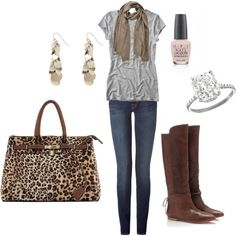 Weekend Casual, created by kristenmycoveredbridge.polyvore.com